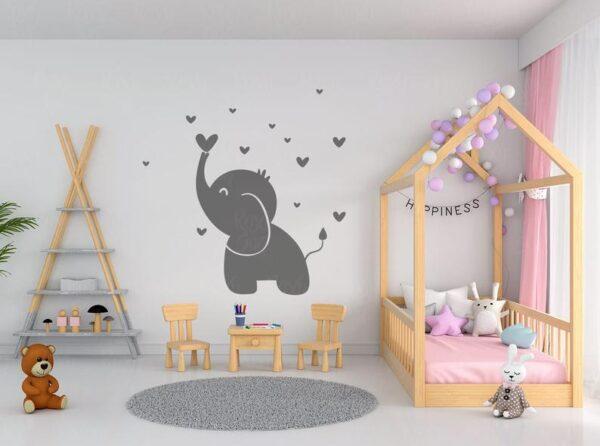 Baby Elephant SVG