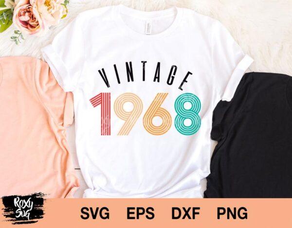 Vintage 1968 svg