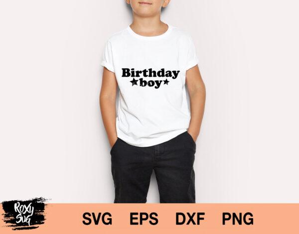 Birthday Boy SVG