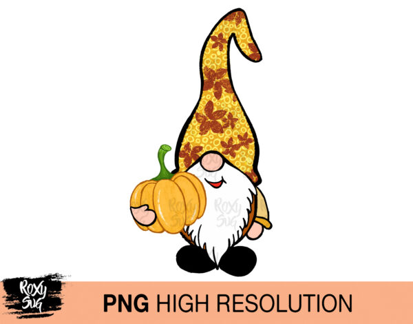 Fall Gnome PNG